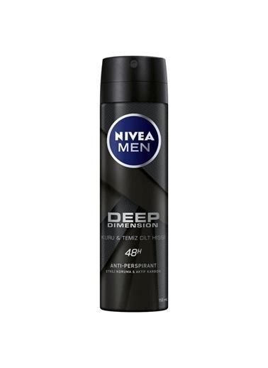 Nivea Nıvea Men Deodorant Deep Dımensıon Erkek Sprey 150 Ml Renksiz
